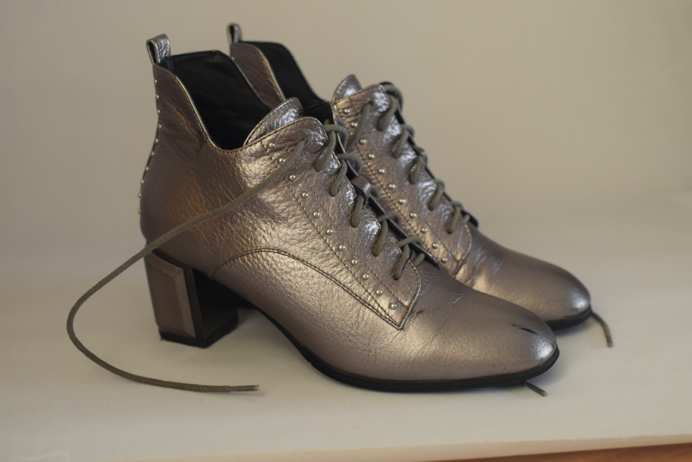 Ботинки, размер 37,5  (240 мм).