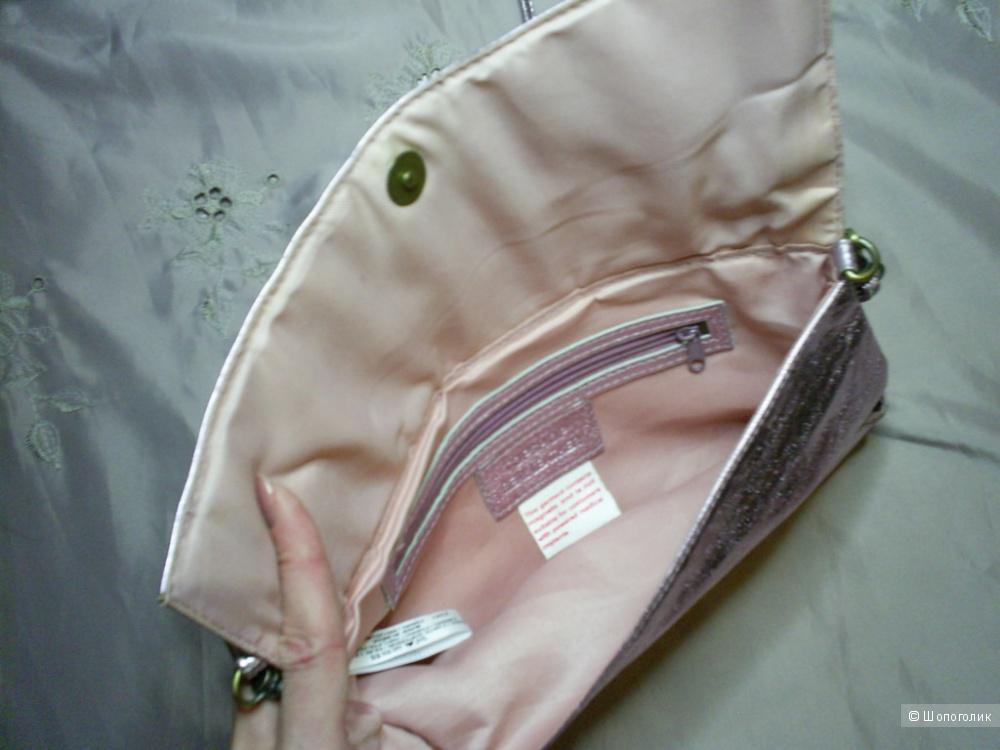 Кожаная сумка кросс-боди от Topshop.