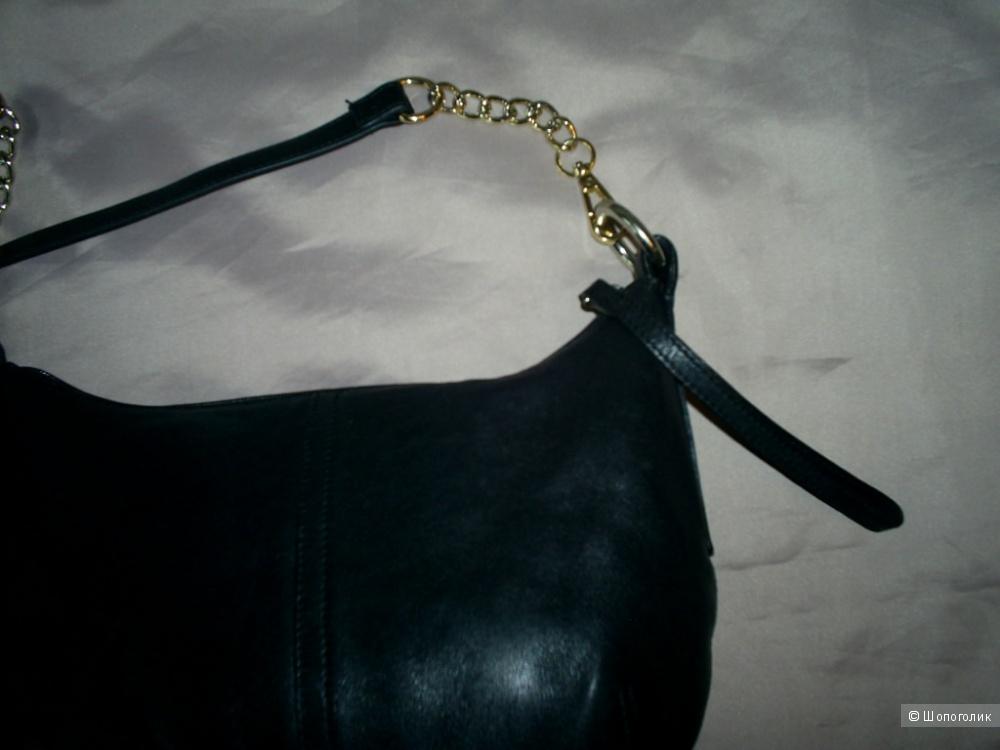 Кожаная сумка кросс-боди от Marks&Spencer.