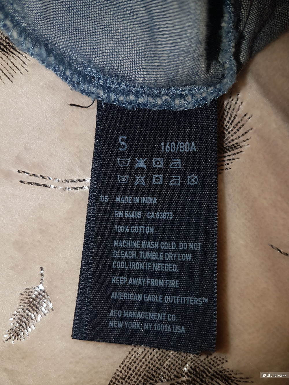 Джинсовое платье American Eagle. Размер S