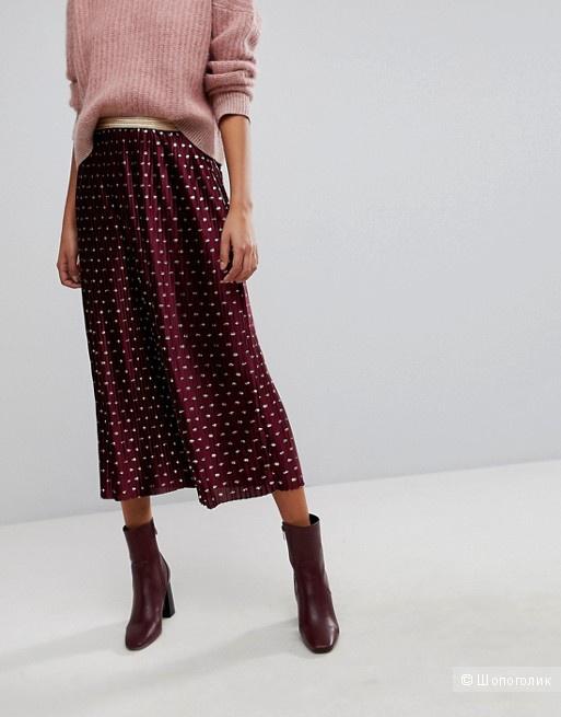 Плиссированная юбка Y A S размер XS