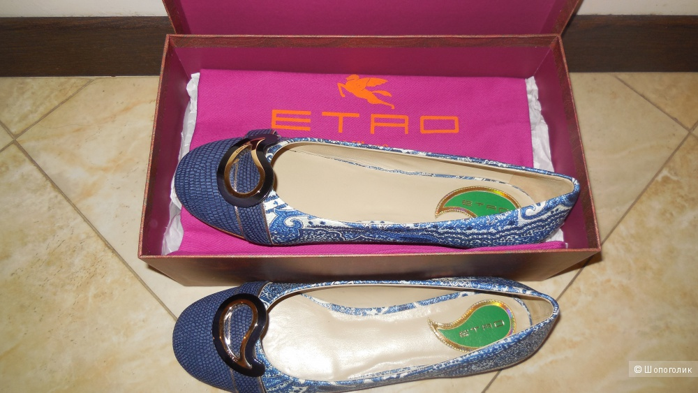 Балетки Etro, размер 39.