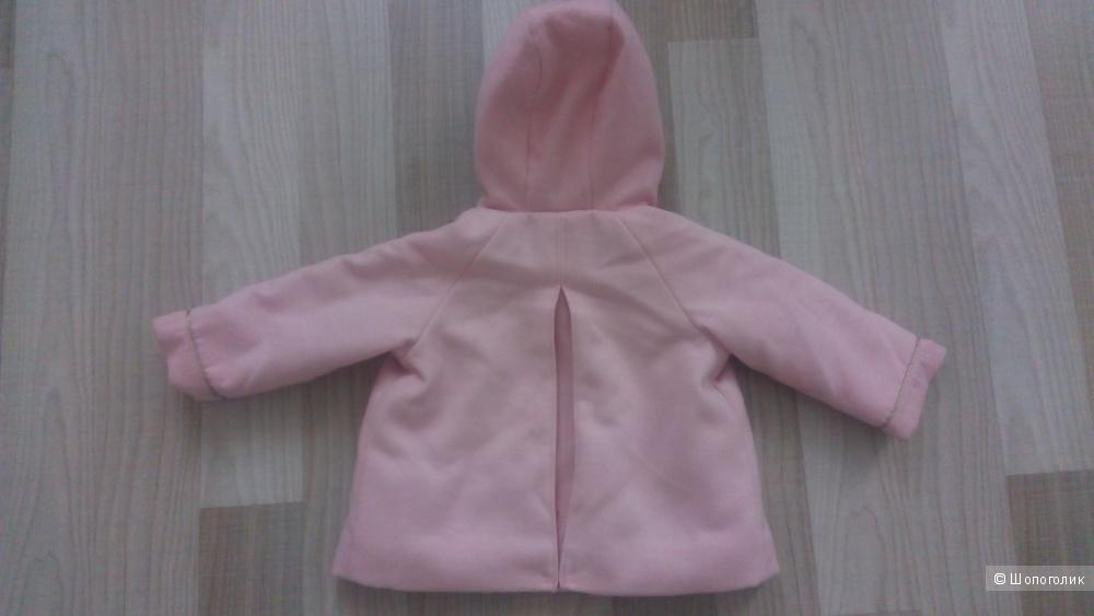 Пальто kiabi 1-1.5 года