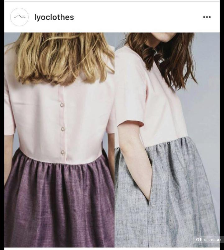 Платье Ле/ Lyoclothes, размер 42-44