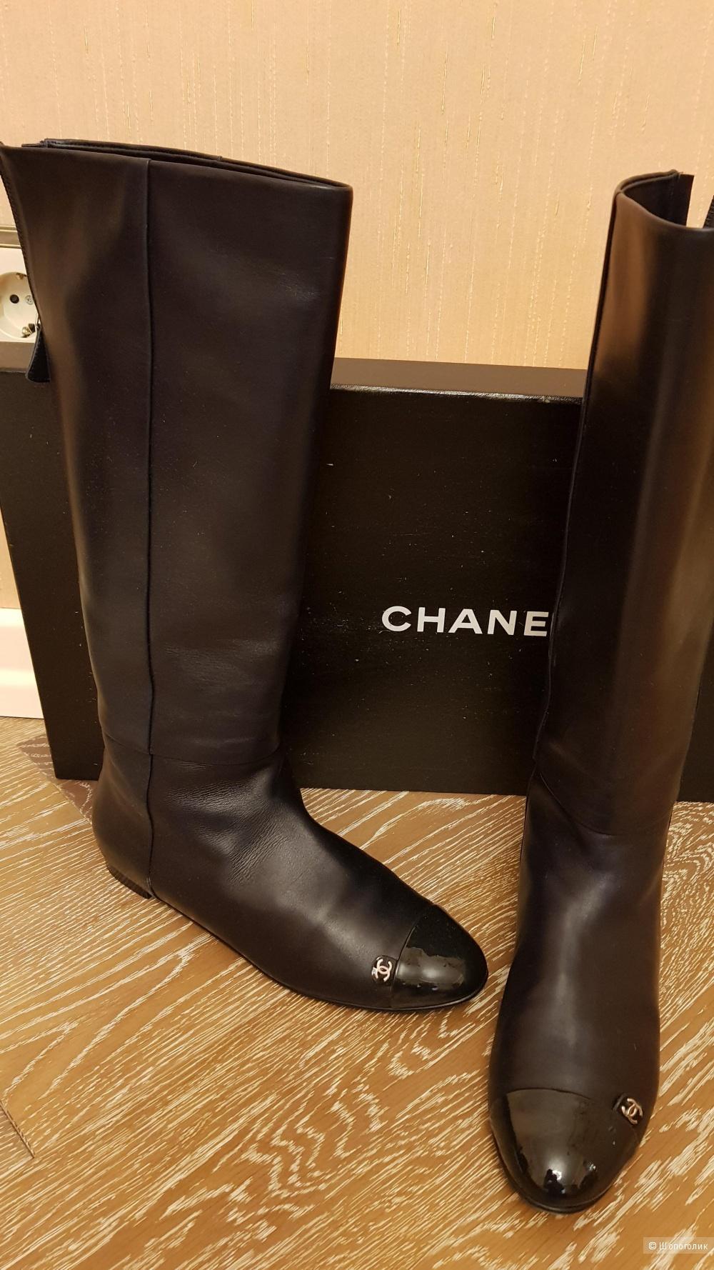 Сапоги , Chanel , 39 ит. размер