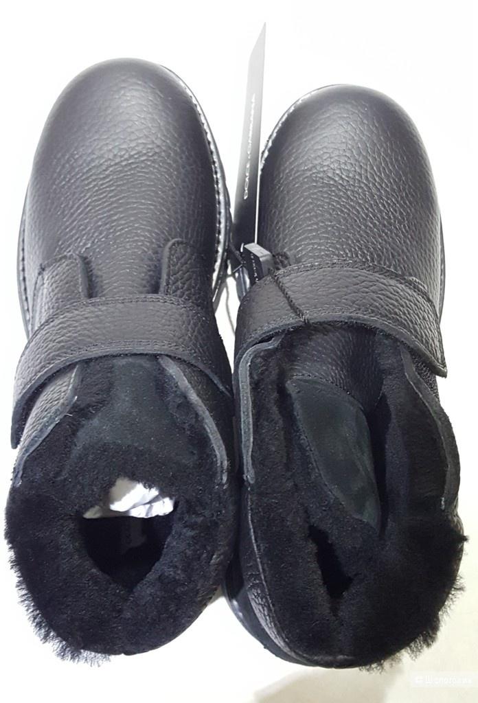 DOLCE&GABBANA зимние ботинки. р.37
