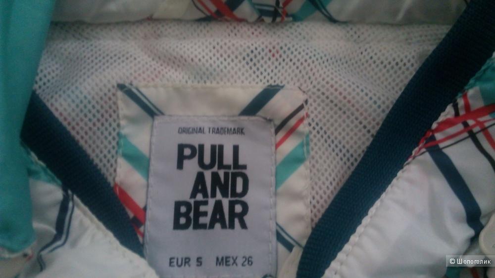Ветровка pull and bear размер s