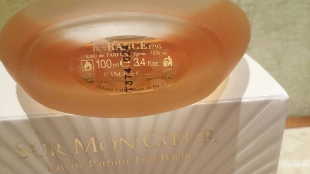 Парфюм Sur Mon Coeur, Rance 1795 100мл