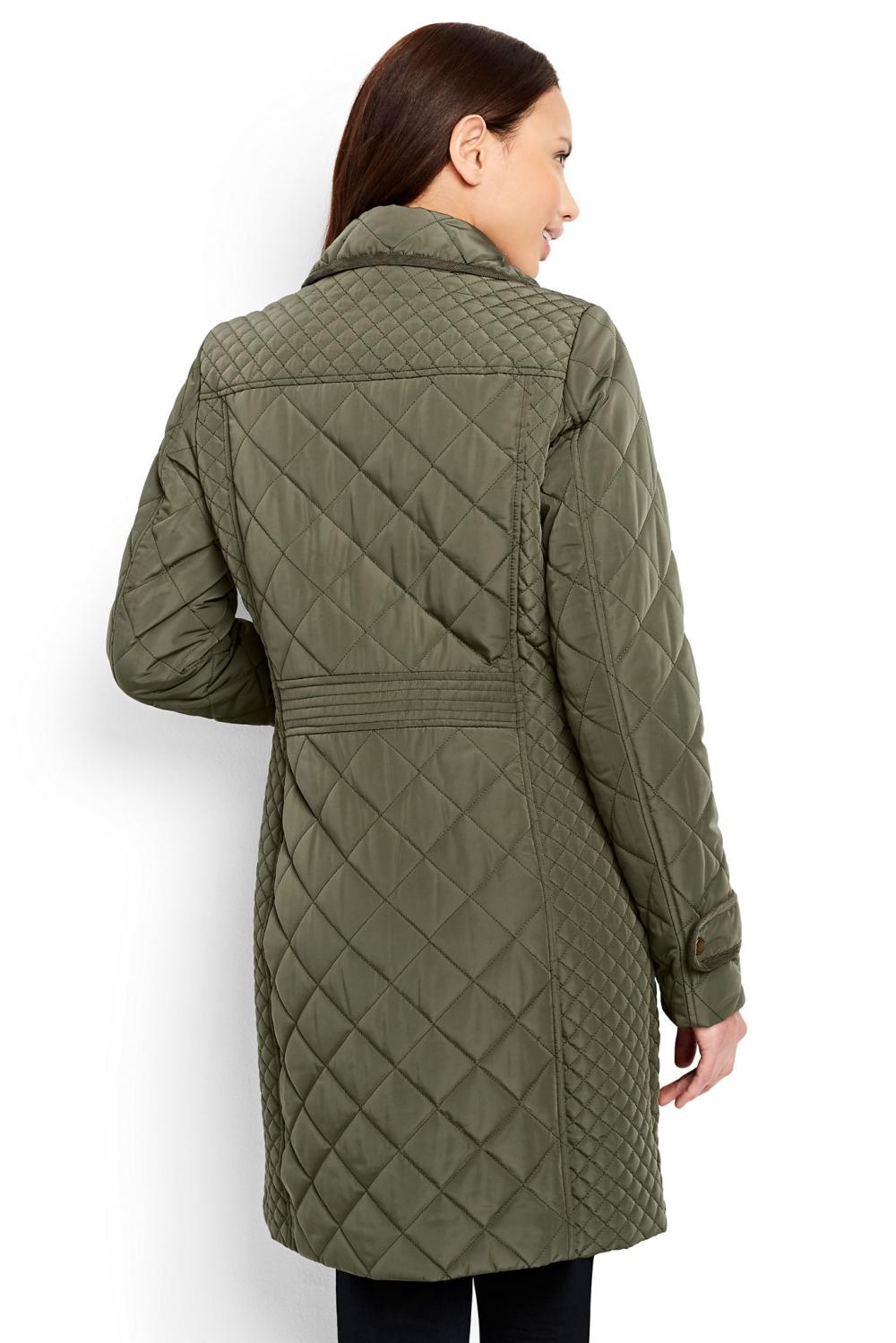 Стеганое пальто Landsend usa 8 ( 46 рос.)
