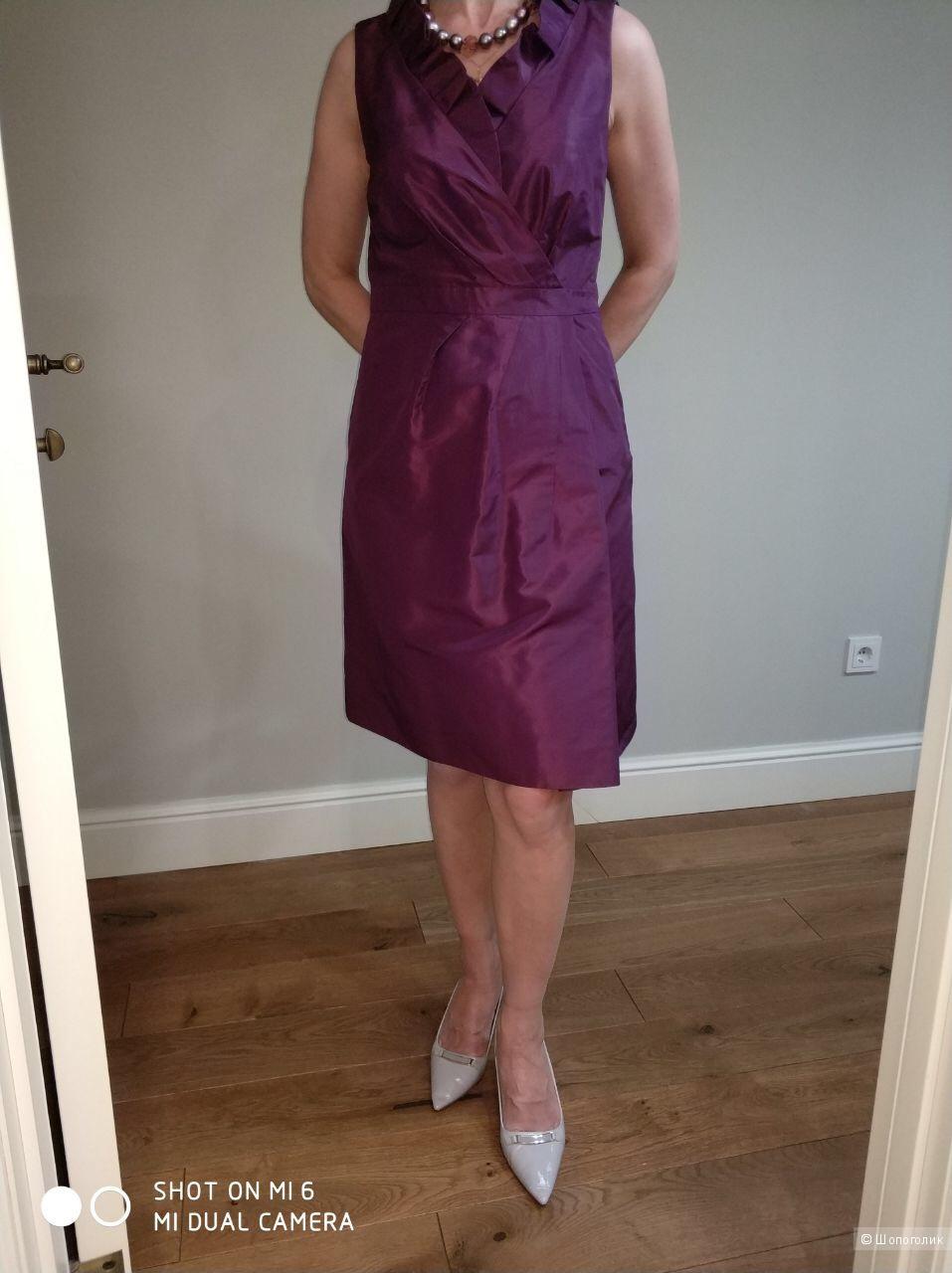 Платье из шелковой тафты JCrew, размер 4 (US), рос 42-44