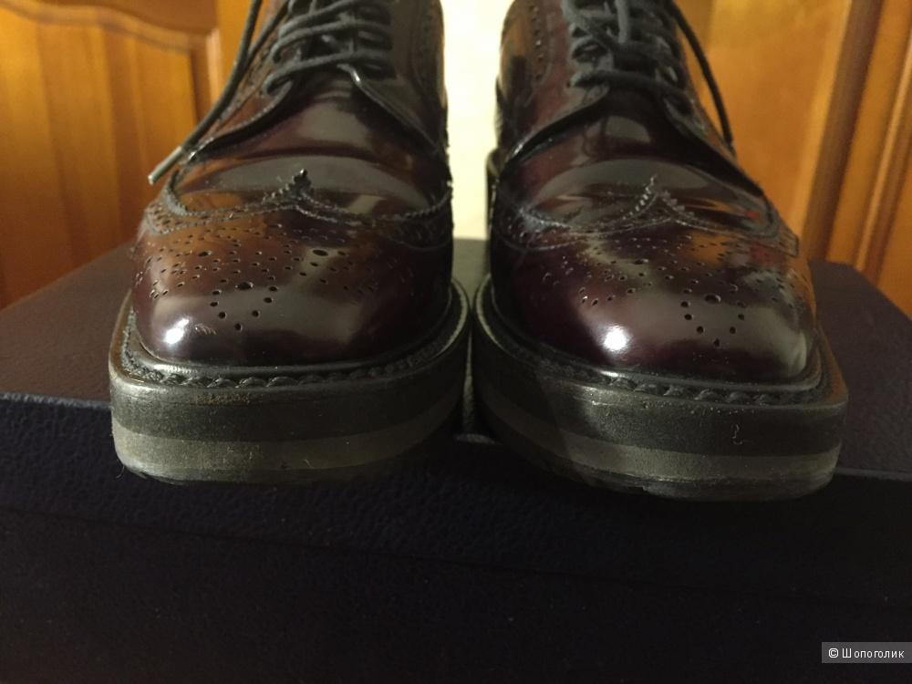 Туфли-броги Prada 38-38,5