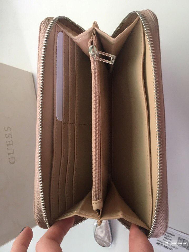 Новый кошелёк Guess размер 20х10
