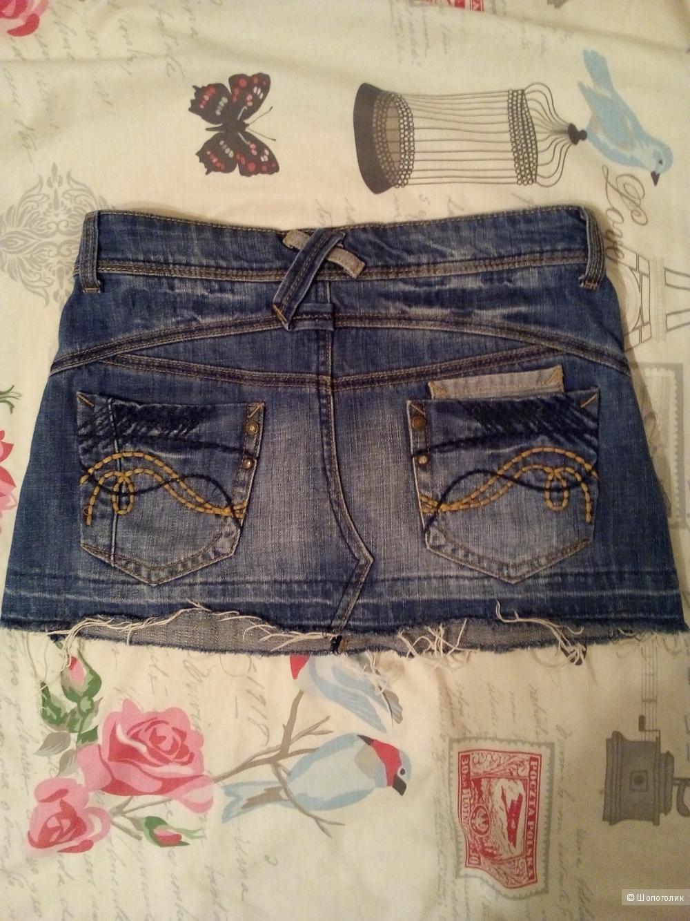 Джинсовая юбка Miss Selfridge размер 38