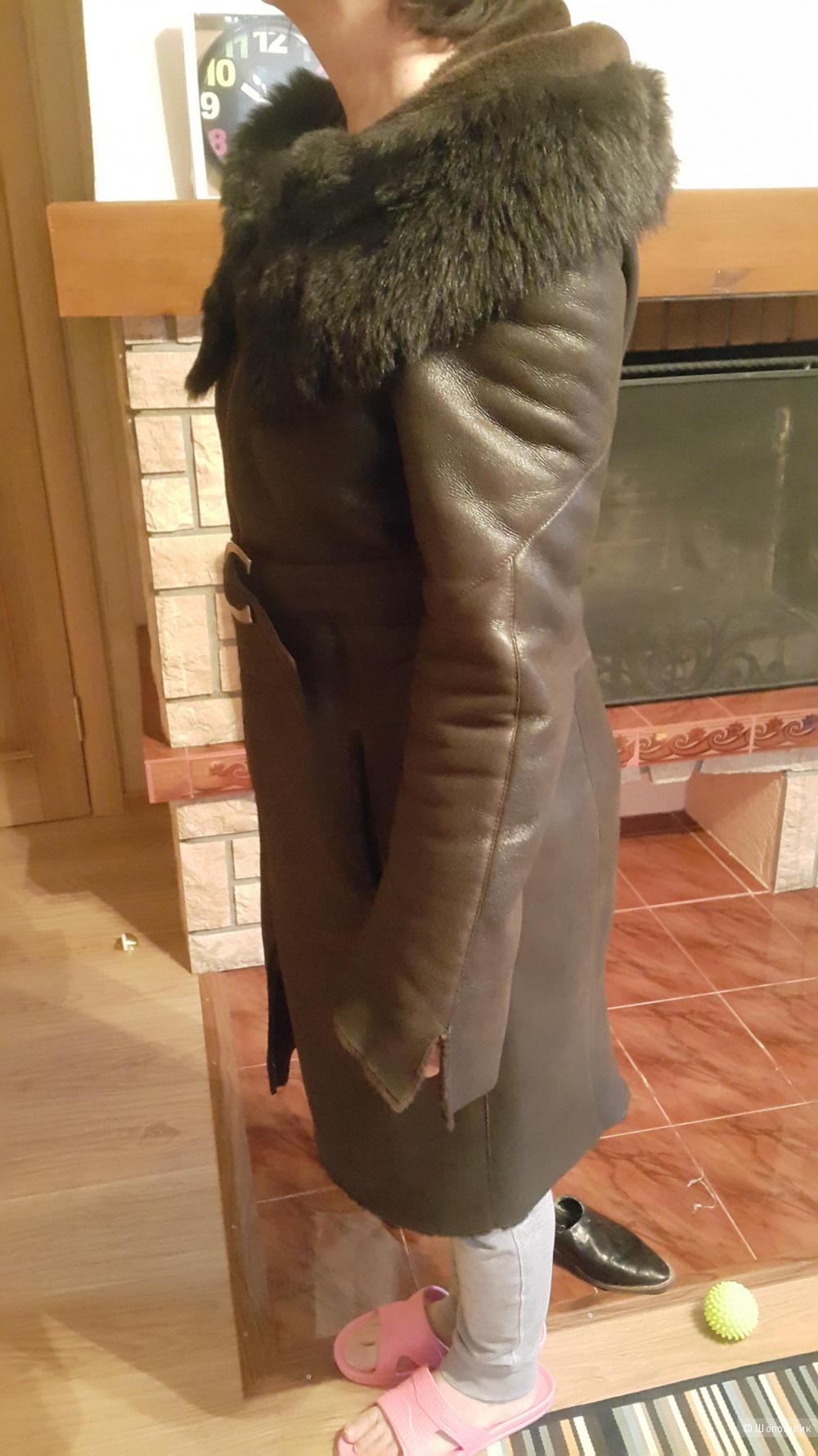 Дубленка турецкая ,размер L. 48