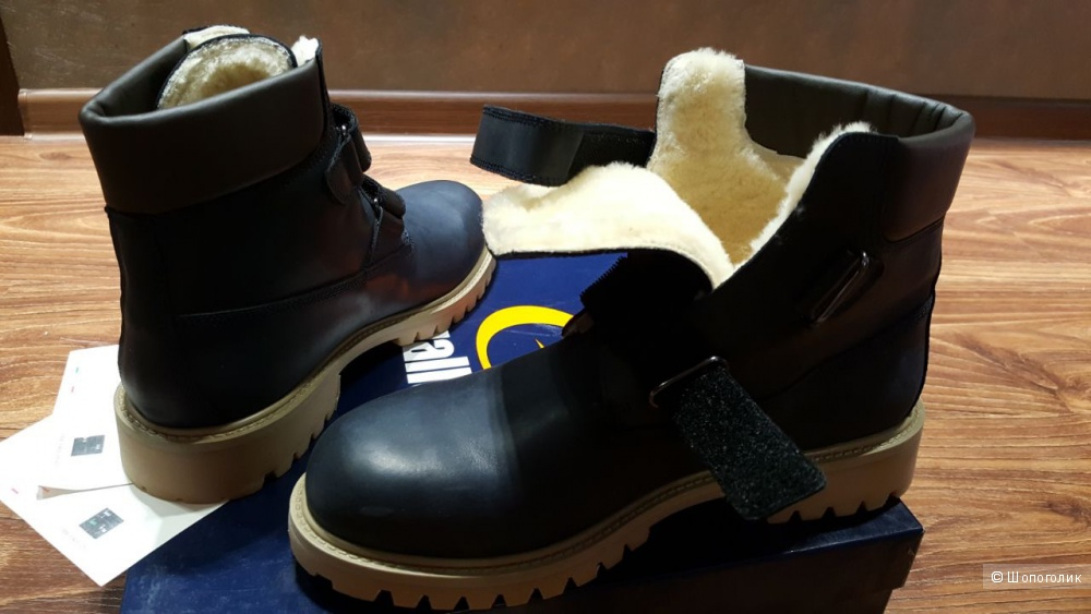 GALLUCCI зимние ботинки. р.38