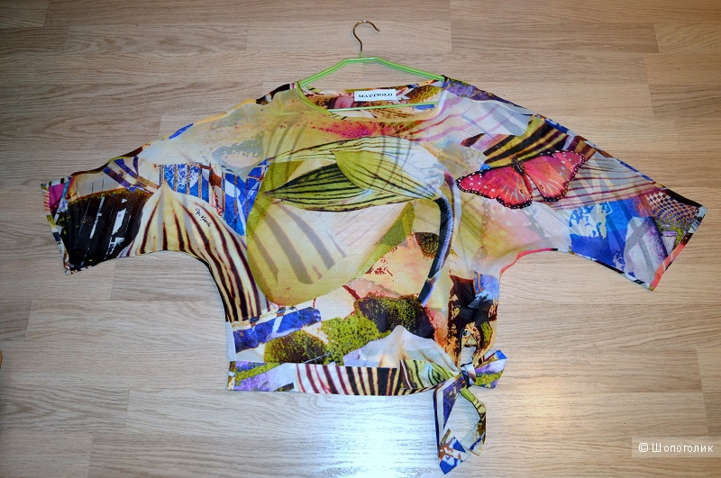 Блуза,  MATTIOLO ,размер  44-46-48.