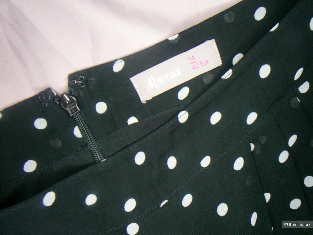 Шифоновые брюки от A Wear р 14 евр. На 48-50 рус.