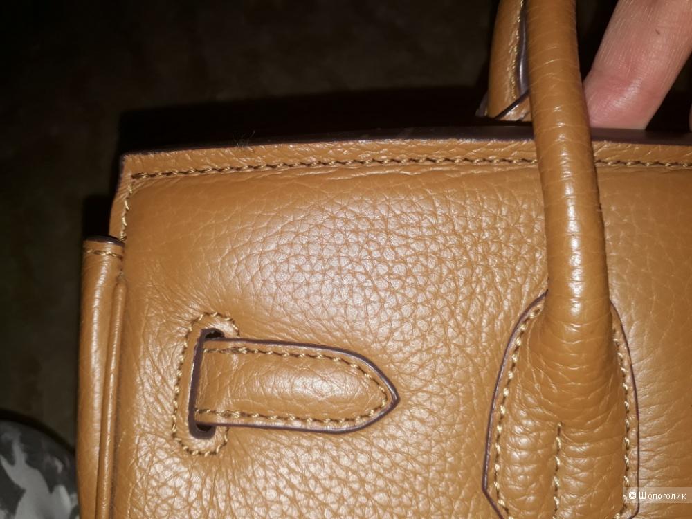 Люксовая реплика Hermes Биркин 30 на 22 см натуральная кожа