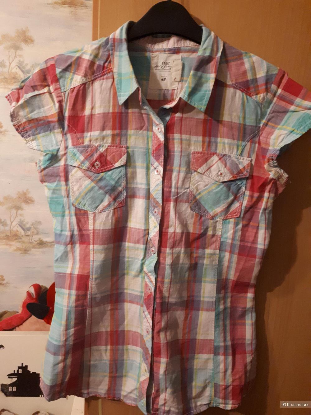 Рубашка H& M р.42