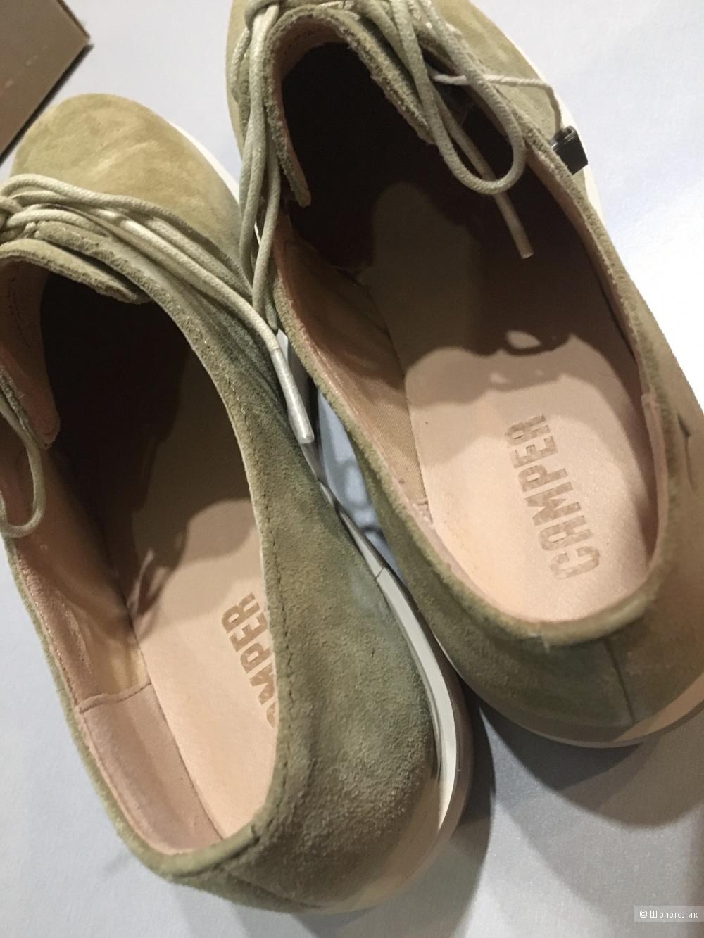 Туфли на шнурках CAMPER, 40 (Европейский Размер). По стельке 26 см