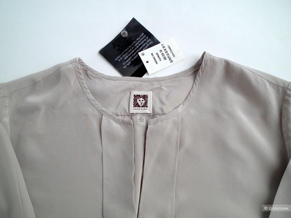 Шелковая блузка Anne Klein US10 (48-50р)