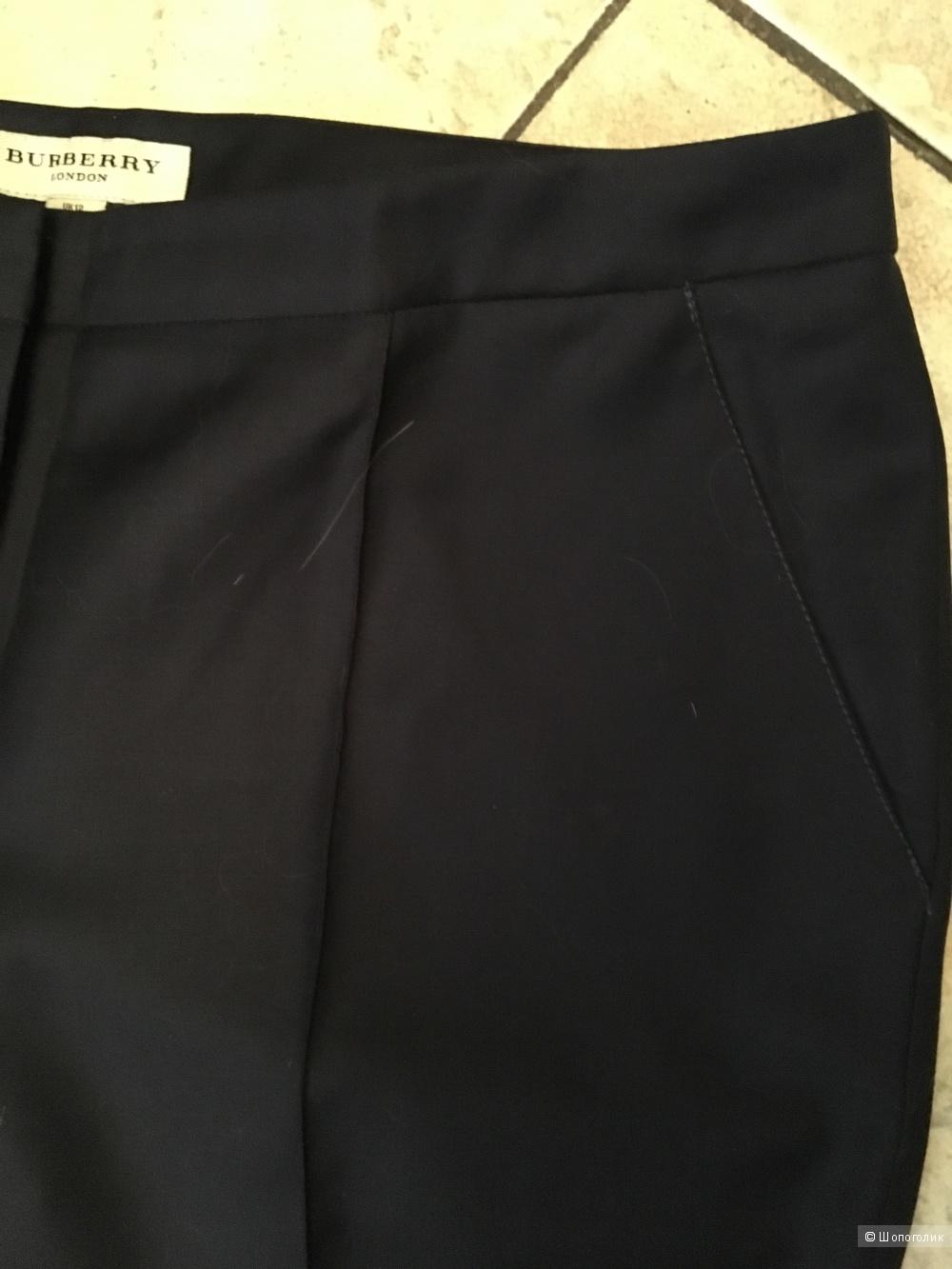 Темно-синие брюки Burberry London, размер UK12