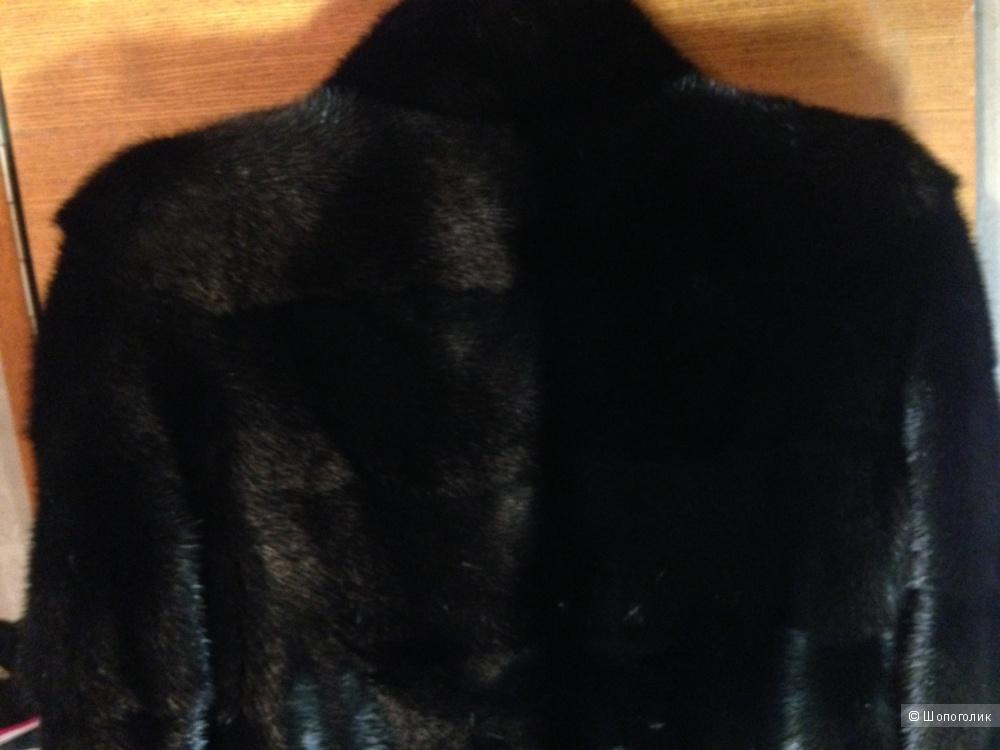 Норковая шуба,размер s