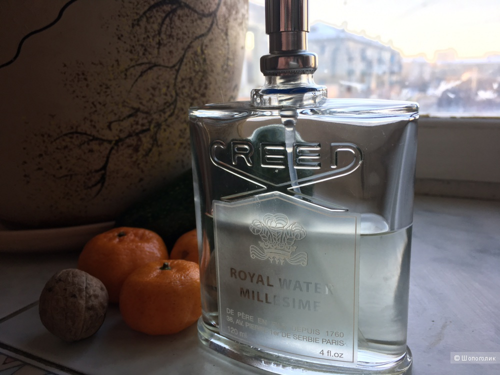 Тестер Royal Water by Creed Eau De Parfum 4.0 oz 120 ML Spray Unisex (остаток ~60%)