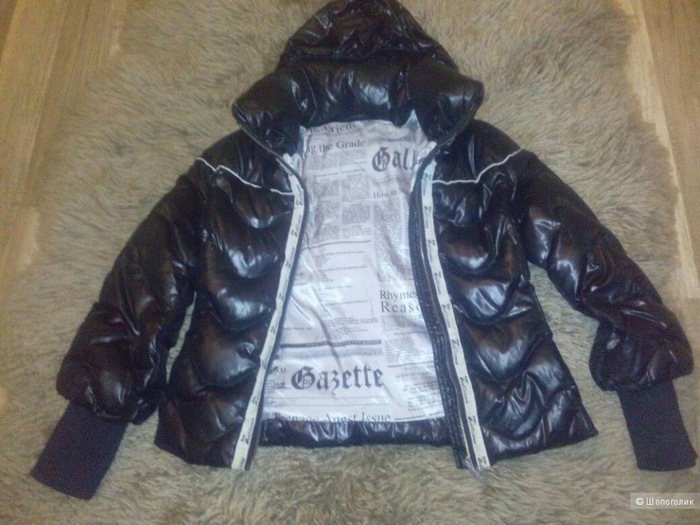 Куртка пуховик Galliano для девочки, размер 12 лет
