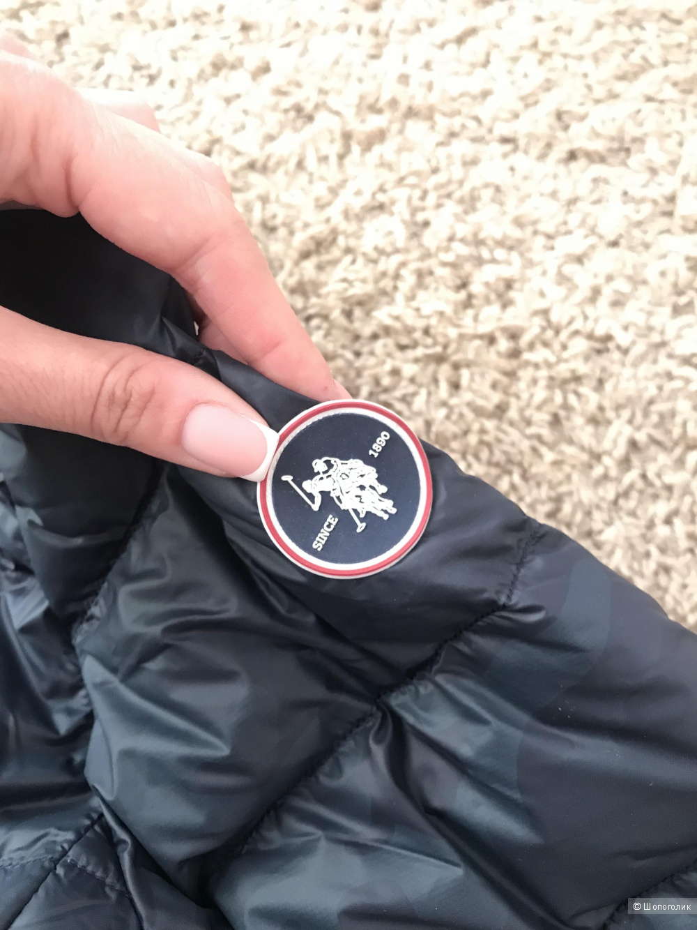 Мужская куртка U.S.POLO ASSN 52 размер