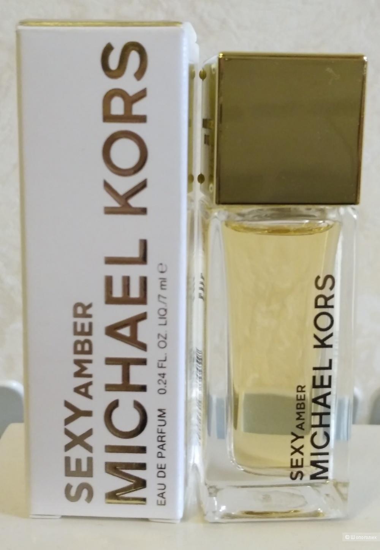 Sexy Amber, Michael Kors edp 7 мл миниатюра