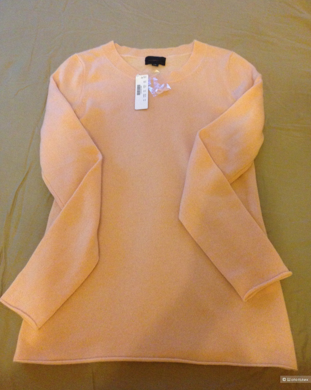 Кашемировый свитер от Jcrew на xs -s