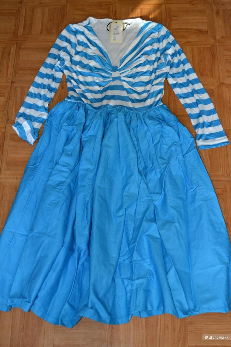Винтажное платье размер 44 (8UK)