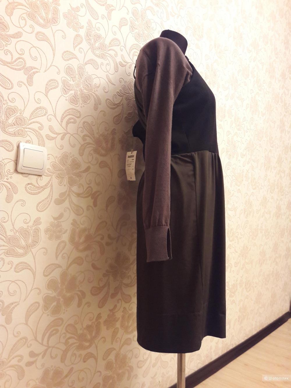 Conbipel: платье-сарафан на кожаных лямках, 46