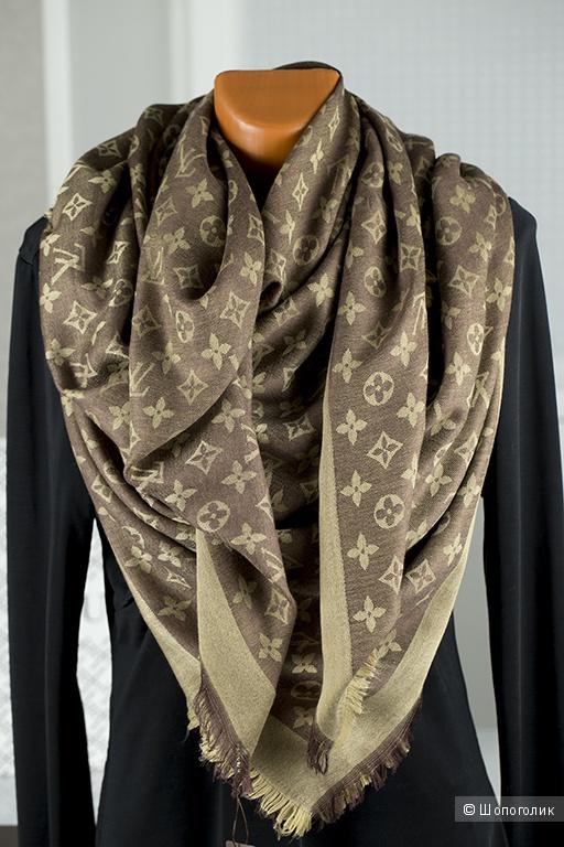 Платок в подарочной упаковке, Louis Vuitton, размер 140*140 см