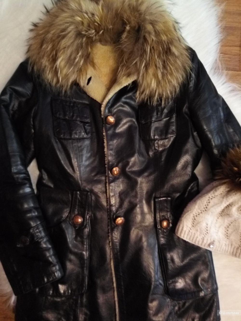 Дубленка-куртка BIGPRADA ,42-44р
