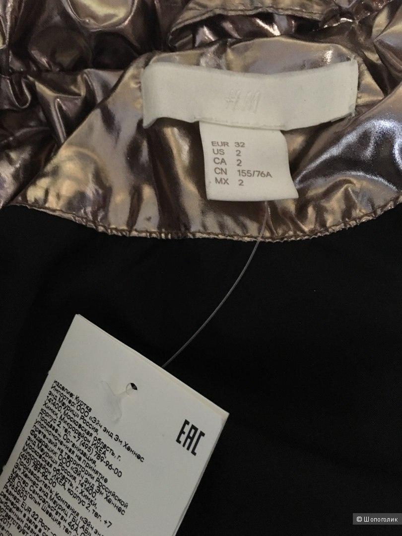 Куртка утепленная HM 40-44 размер