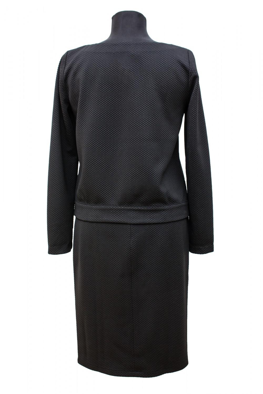 Женский костюм - юбка и джемпер из итальянского джерси, размер XS, S, M
