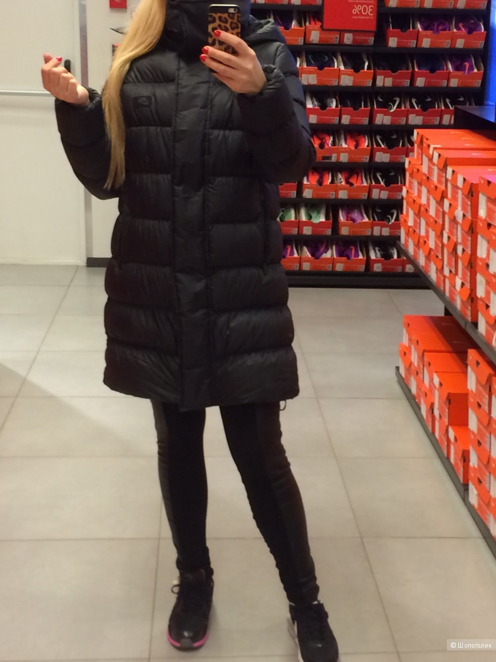 Пуховик Nike размер M