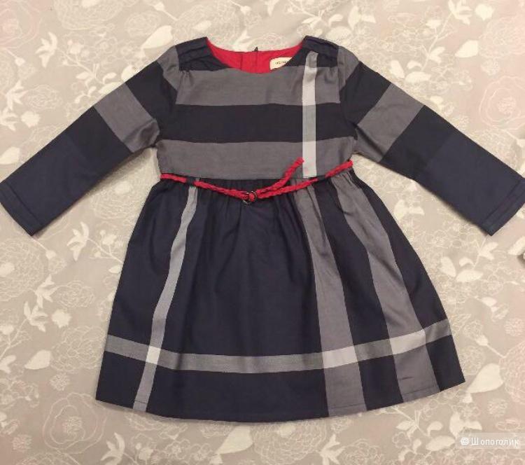 Платье Burberry, 18 месяцев