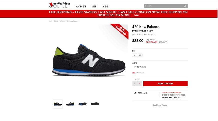 Кроссовки New Balance 420 38- 38,5 размер