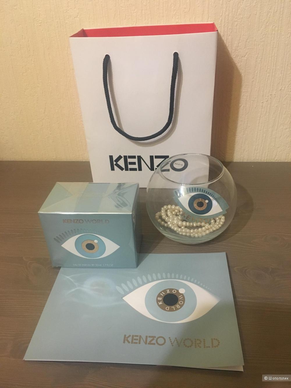 Женская парфюмерная вода Kenzo World, 50мл