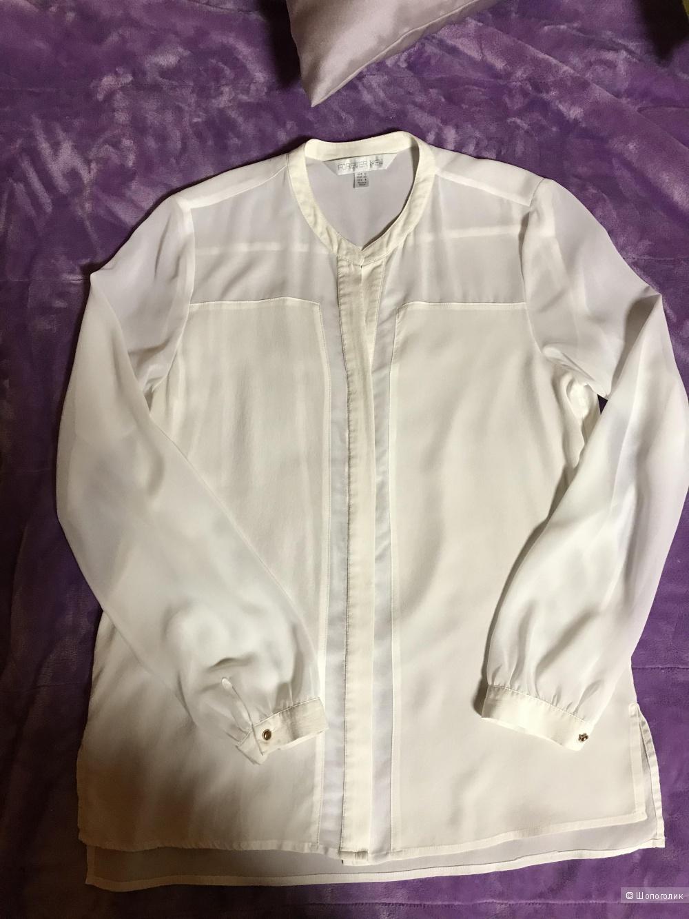 Шелковая блуза Forever new размер 44-48