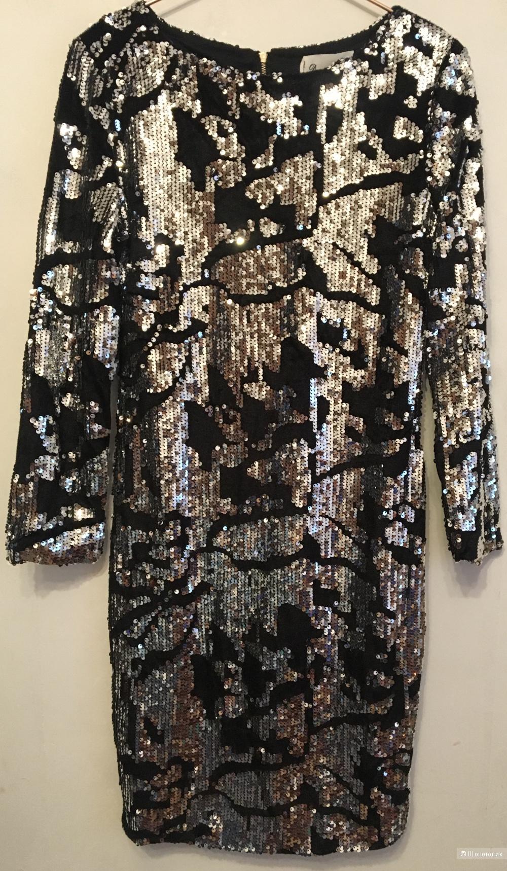 Платье с пайетками Dance, S