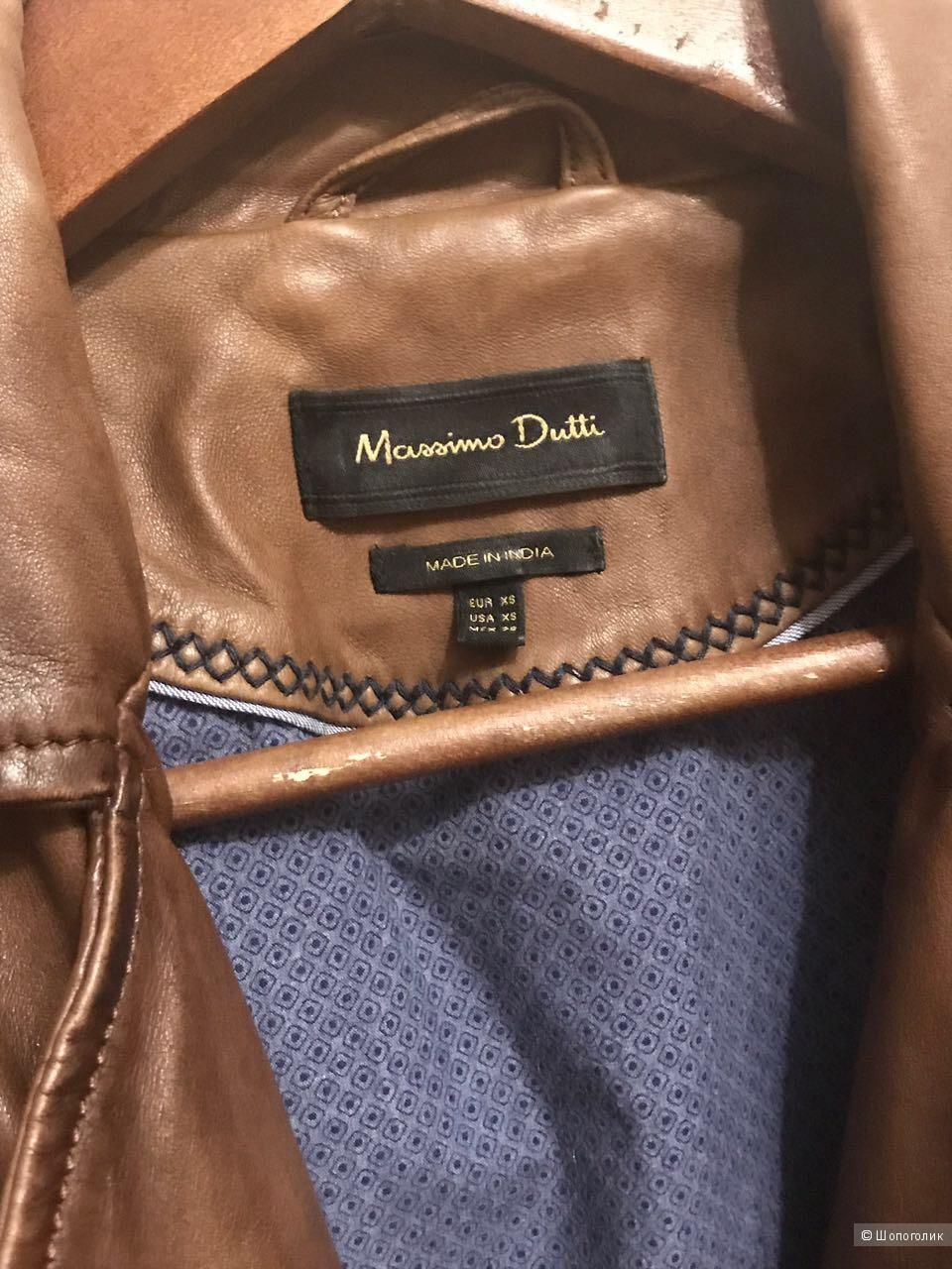 Куртка-косуха Massimo Dutti