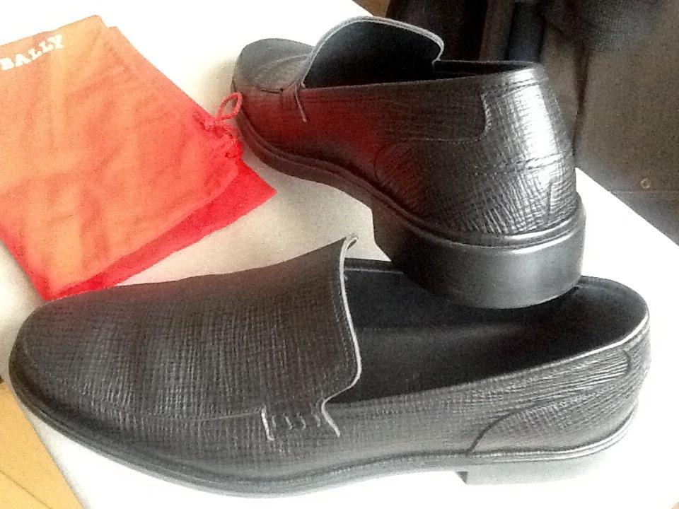 Мужские туфли BALLY,размер 43,5