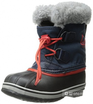 Сапоги SOREL Yoot Pac Nylon Collegi N Cold Weather Boot. Размер 6US (детский).
