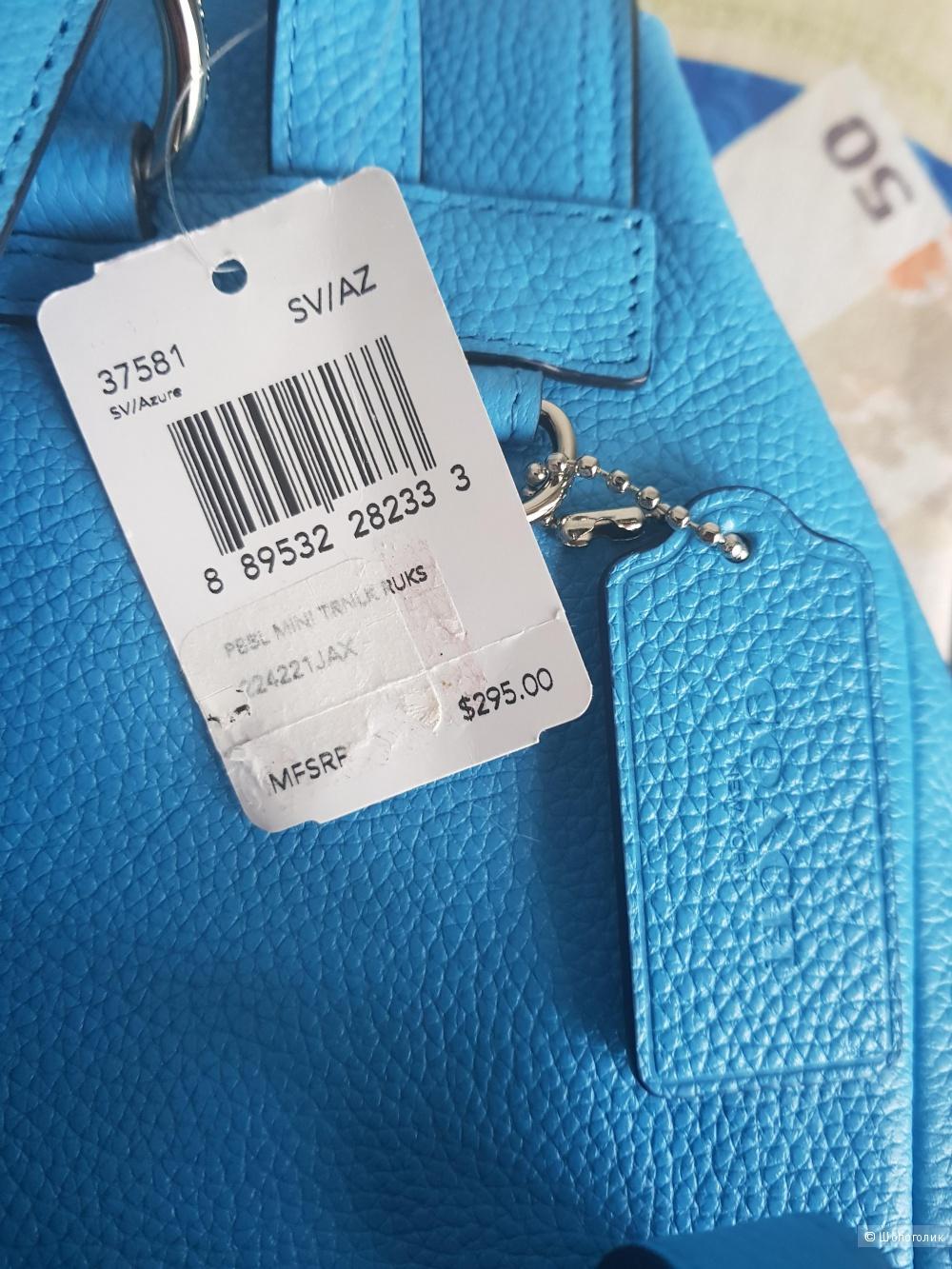 Coach новый кожаный рюкзак