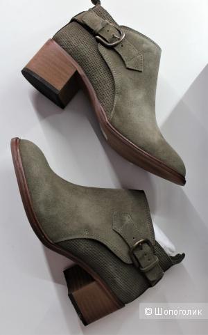 Замшевые ботинки Alex+Alex р-р 37-37,5