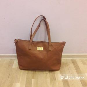 Кожаная сумка-шоппер Joy Mangano
